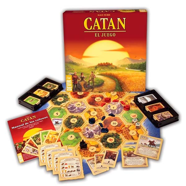 Catán, un juego genial para adultos